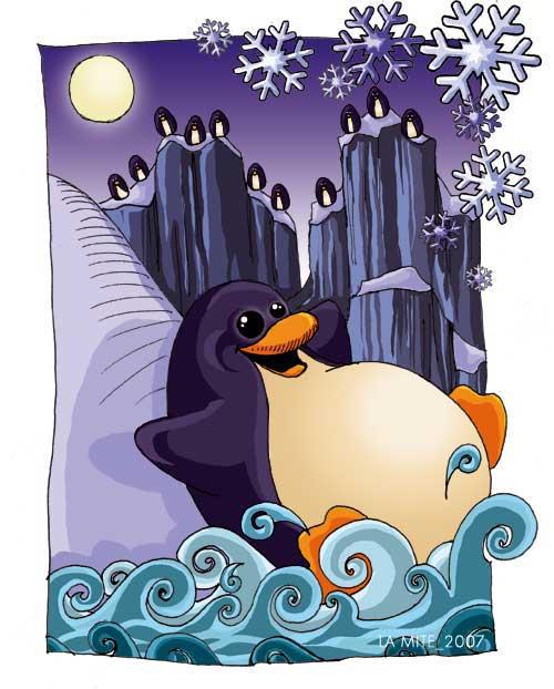 Cadeau de Marie dans cadeaux! pingouin1