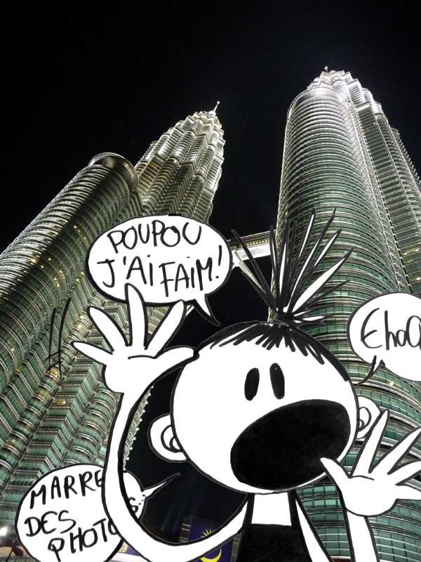 A Singapour...on va à Kuala Lumpur... dans Singapour