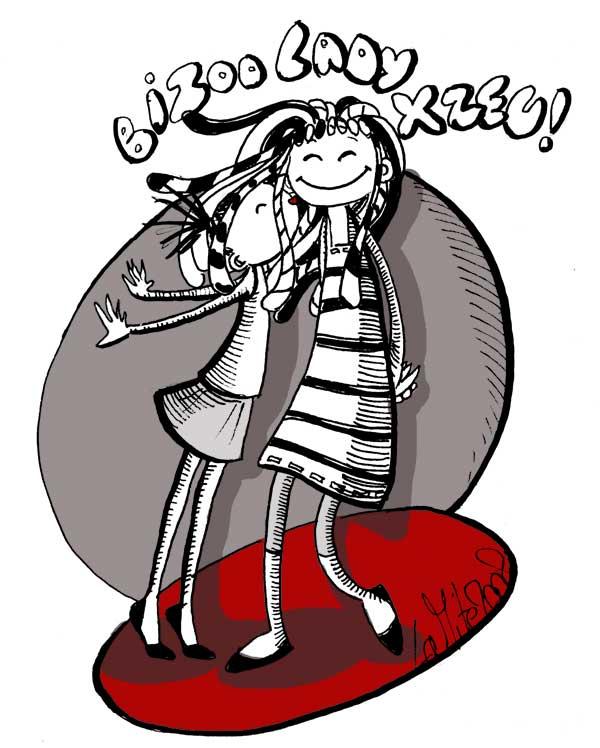 Et un bizoo pour Lady Xzeu, un! dans cadeaux! bizooxzeu