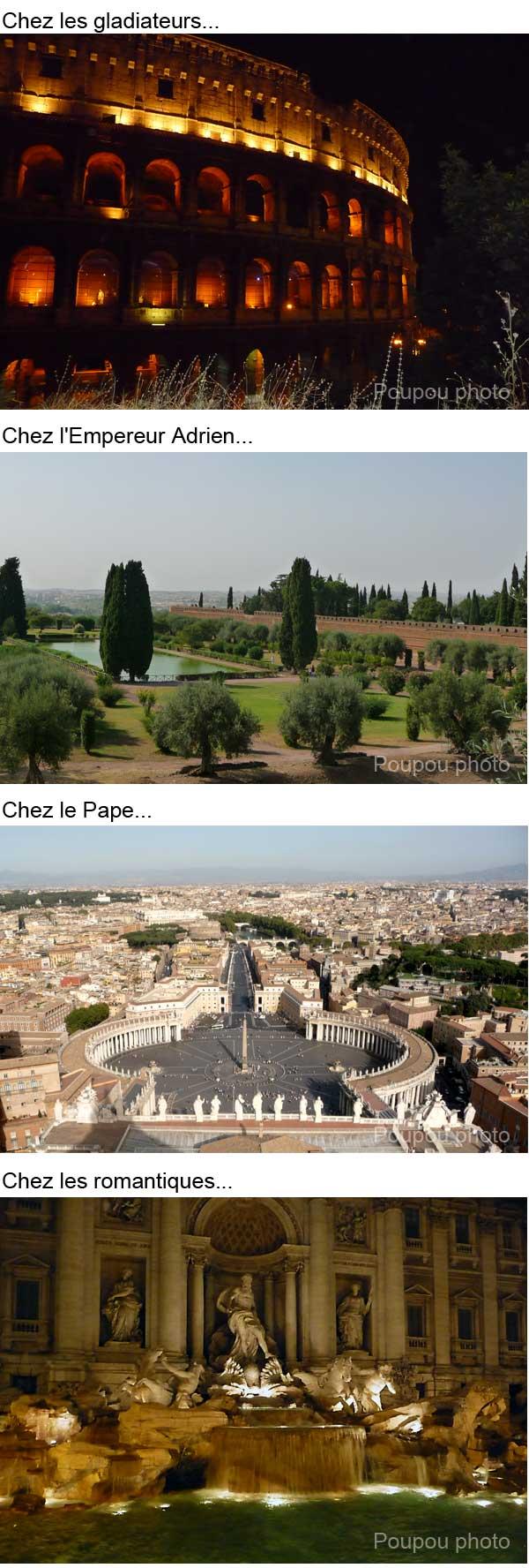 Rome IV dans divers rome4