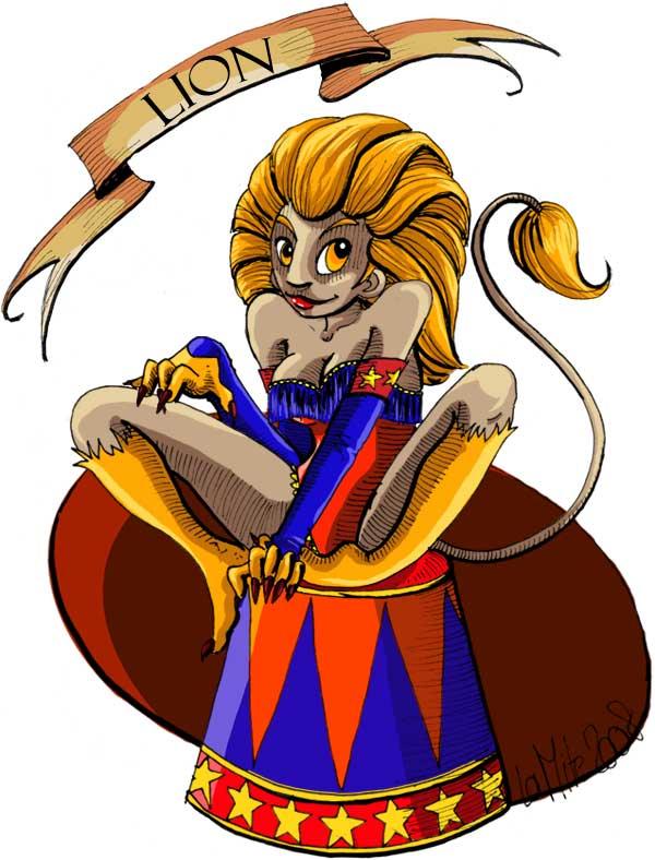 Joyeux Zodiaque! dans Zodiaques lion
