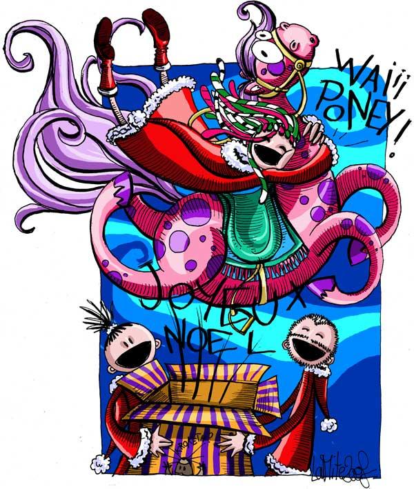 E-card de Nowel pour le concours de Lady Xzeu dans cadeaux! xzeunoel