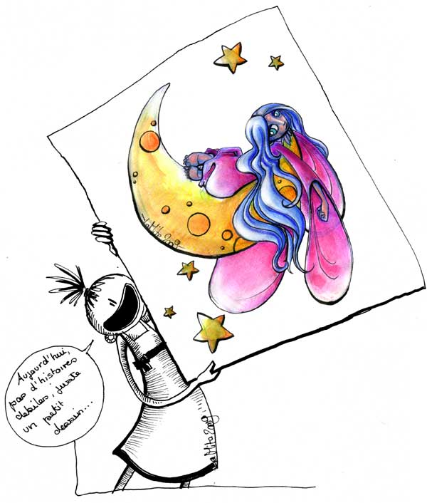 Madame lune dans divers lune
