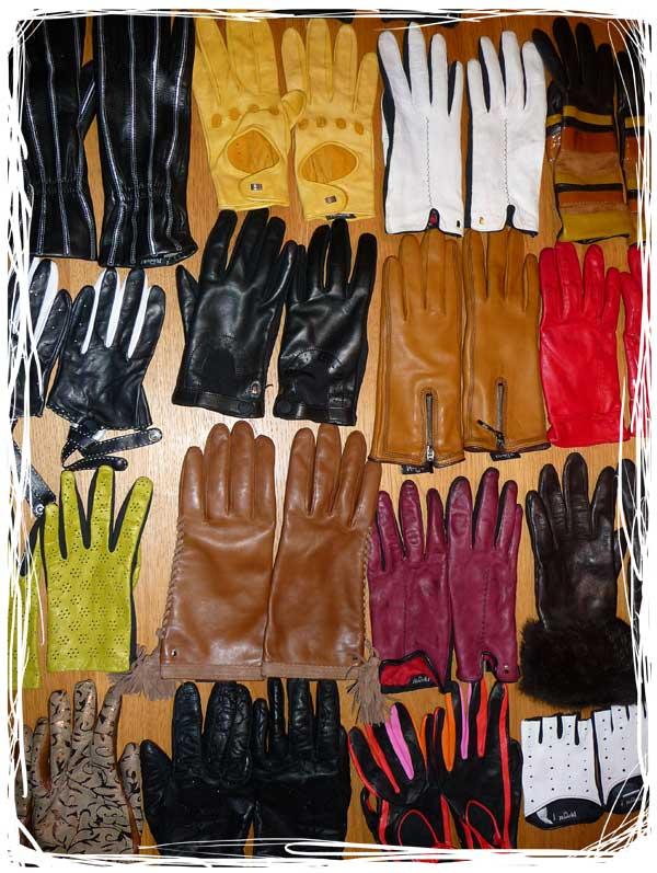 Mes petits chouchous dans divers gants